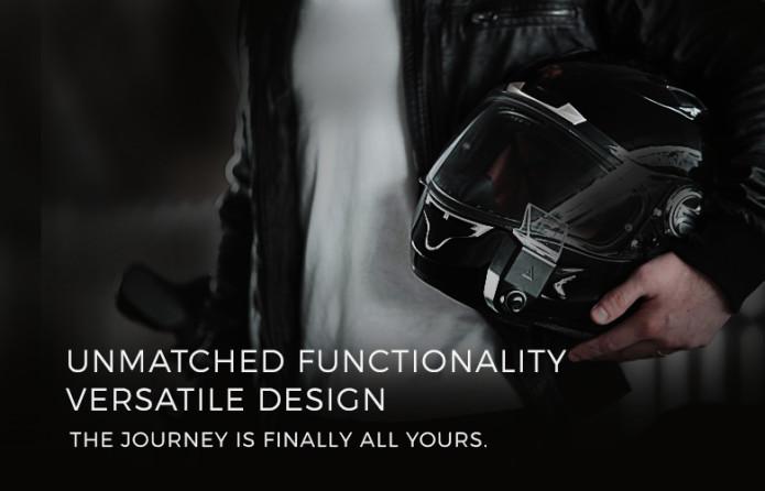 まさに未来のヘルメット!世界初のへルメット装着用AR搭載カメラ「Argon Transform」が登場