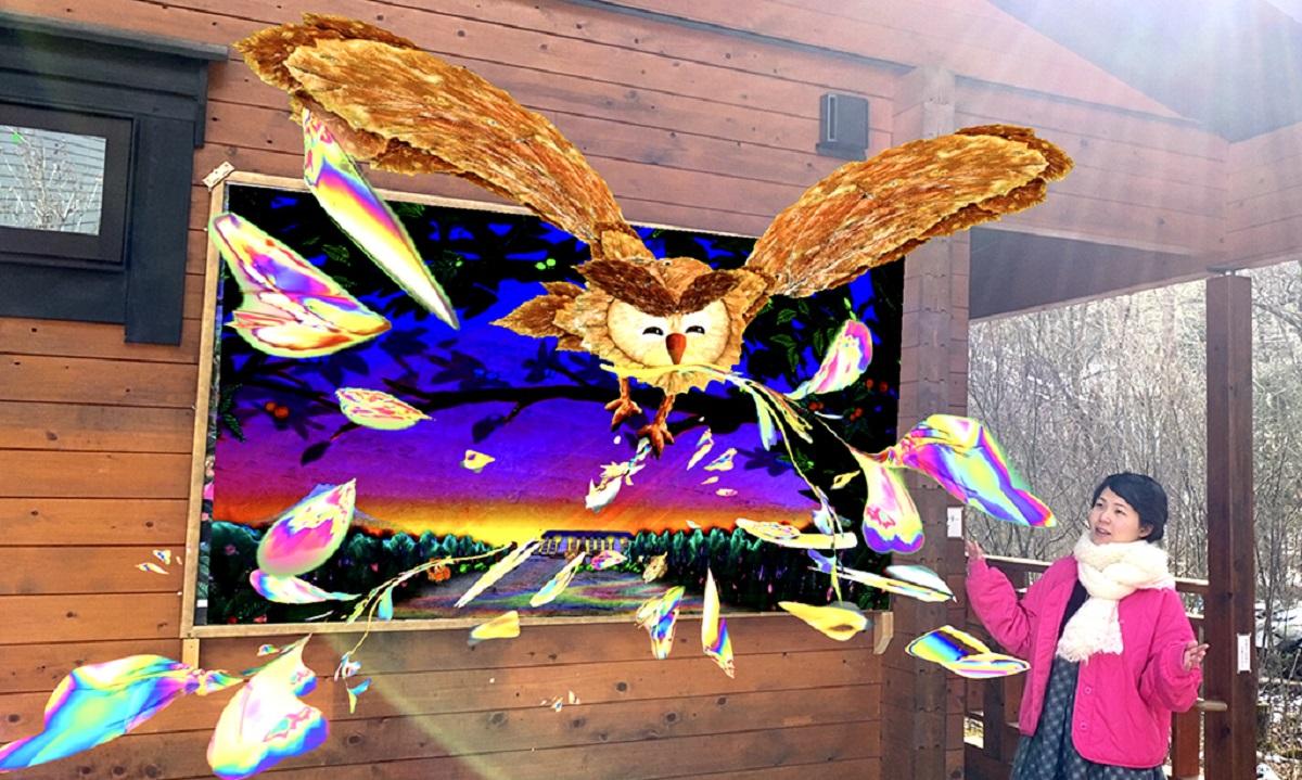 ARでアート作品のお試し鑑賞が簡単にできる!3Dデータ支援ツール「palan 3D」壁面認識に対応