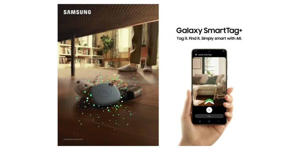 ARを活用した新型紛失防止タグ「Galaxy SmartTag +」をサムスンが発表!位置情報を確認できる