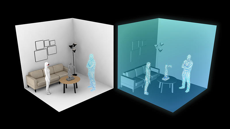 AR活用のコミュニケーション体験構築プロジェクト「ギブソン(GIBSON)」物理的距離を超えて体験をシェア