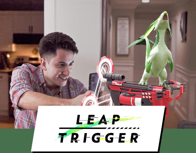 ARシューティングゲーム「Leap Trigger」のクラウドファンディングを米国にて開始!ARバトル開発のGraffityがリリースを目指す