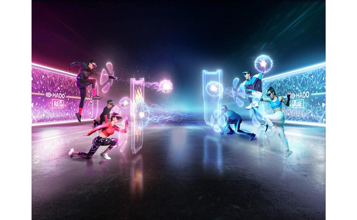 ARを活用した対戦スポーツ「HADO」が岡山初上陸!「HADOワールドin岡山」開催中