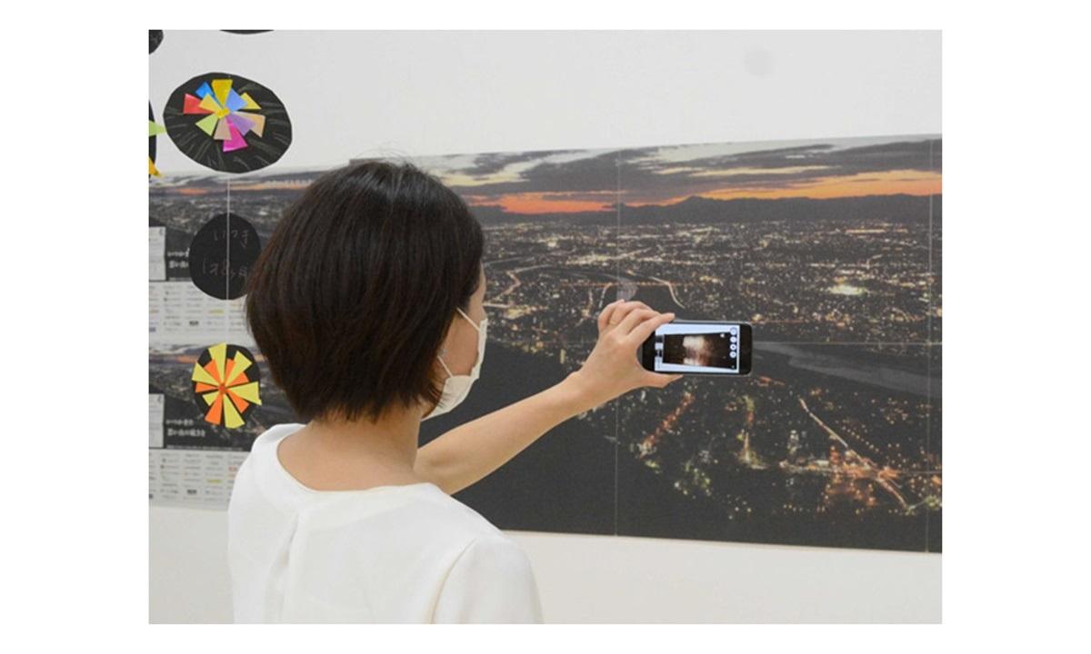 ARで花火鑑賞ができる企画展がモレラ岐阜で開催!「全国花火大会」の映像をARで体験