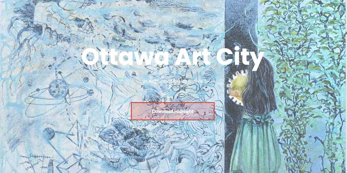 カナダでARアートフェスティバル「Ottawa ARt City」開催!街中にARアートが設置