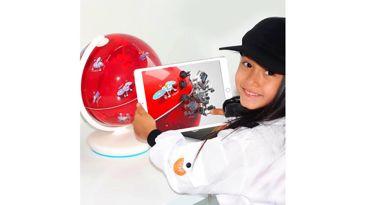 ARでリアルに火星を学べるAR火星儀「Orboot Mars Interactive AR Globe」発売!スマホをかざすと立体映像が浮かび上がる