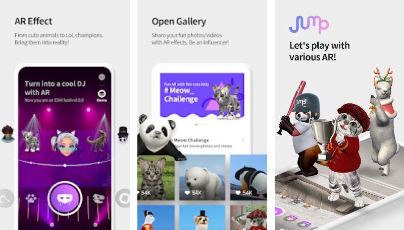 ARでK-POPスターや動物と撮影ができる!SKテレコムのアプリ「ジャンプAR」で楽しめる