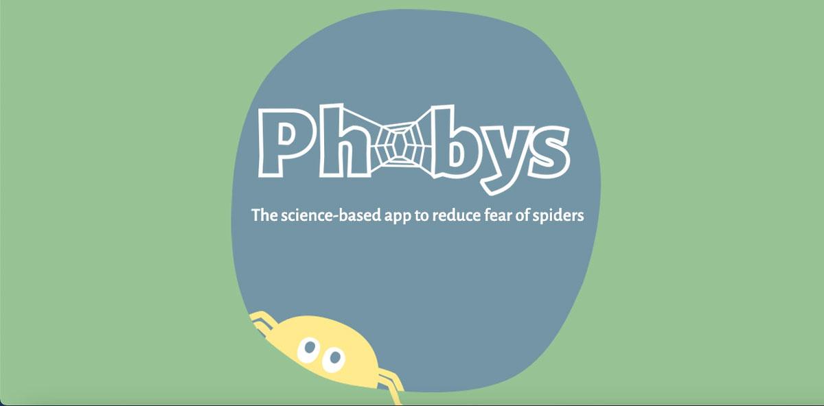 ARでクモ恐怖症の治療をするアプリ「Phobys」開発!暴露療法で恐怖心と向き合う