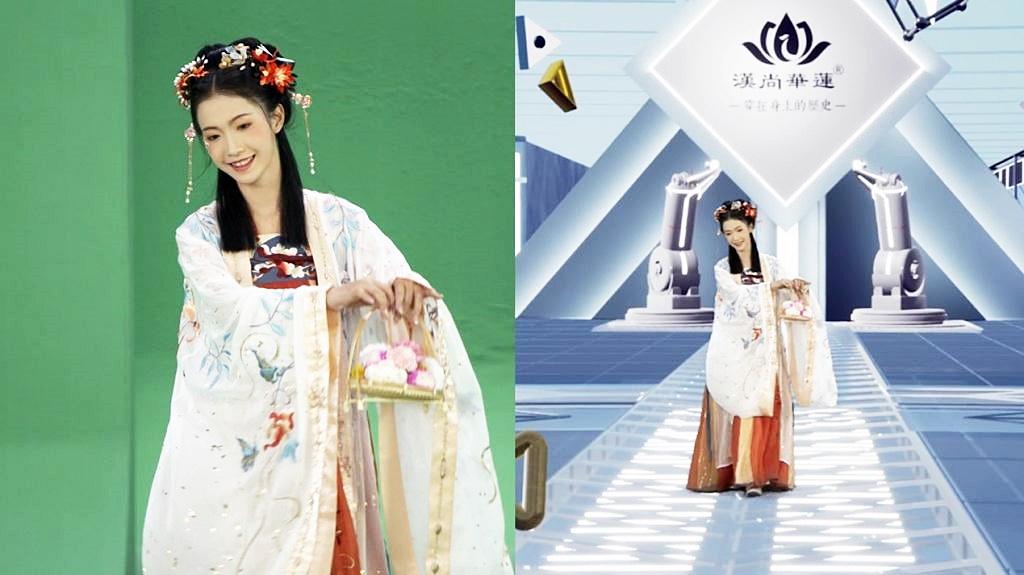 世界初!中国最大のECサイトが、クラウドファッションショーを開催。ステージ装飾にARを活用