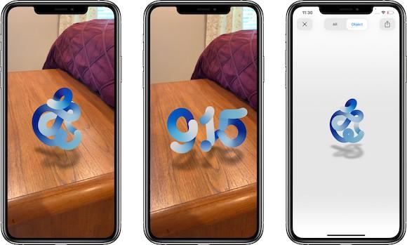 ARで「Apple Event」のロゴが動くと話題に 新製品にAR機能が搭載されることを示唆か