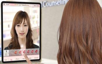 ファンケル「ARメイクアップシミュレーター」を実店舗に導入