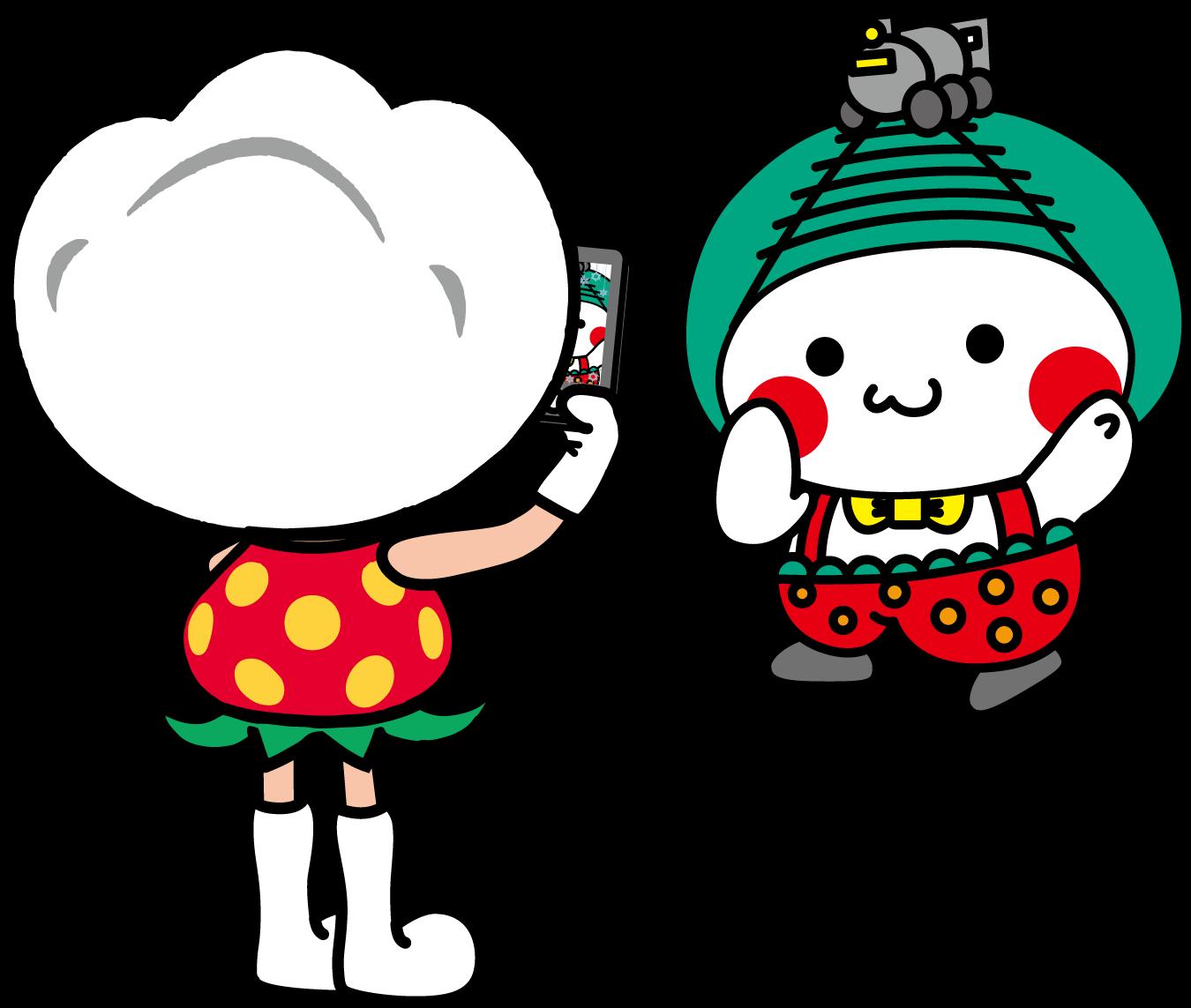 ARフォトフレームで旅気分!栃木県真岡市がゆるキャラやいちごのARフォトフレームを公開