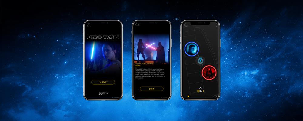 音声ARで「スターウォーズ」の世界観を体験。「Bose Star Wars Audio AR」