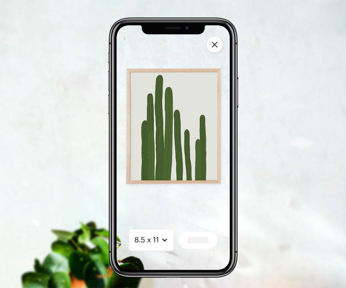 「Etsy(エッツィ)」アプリにAR機能を追加アップデート。アート作品の「試し置き」が可能に