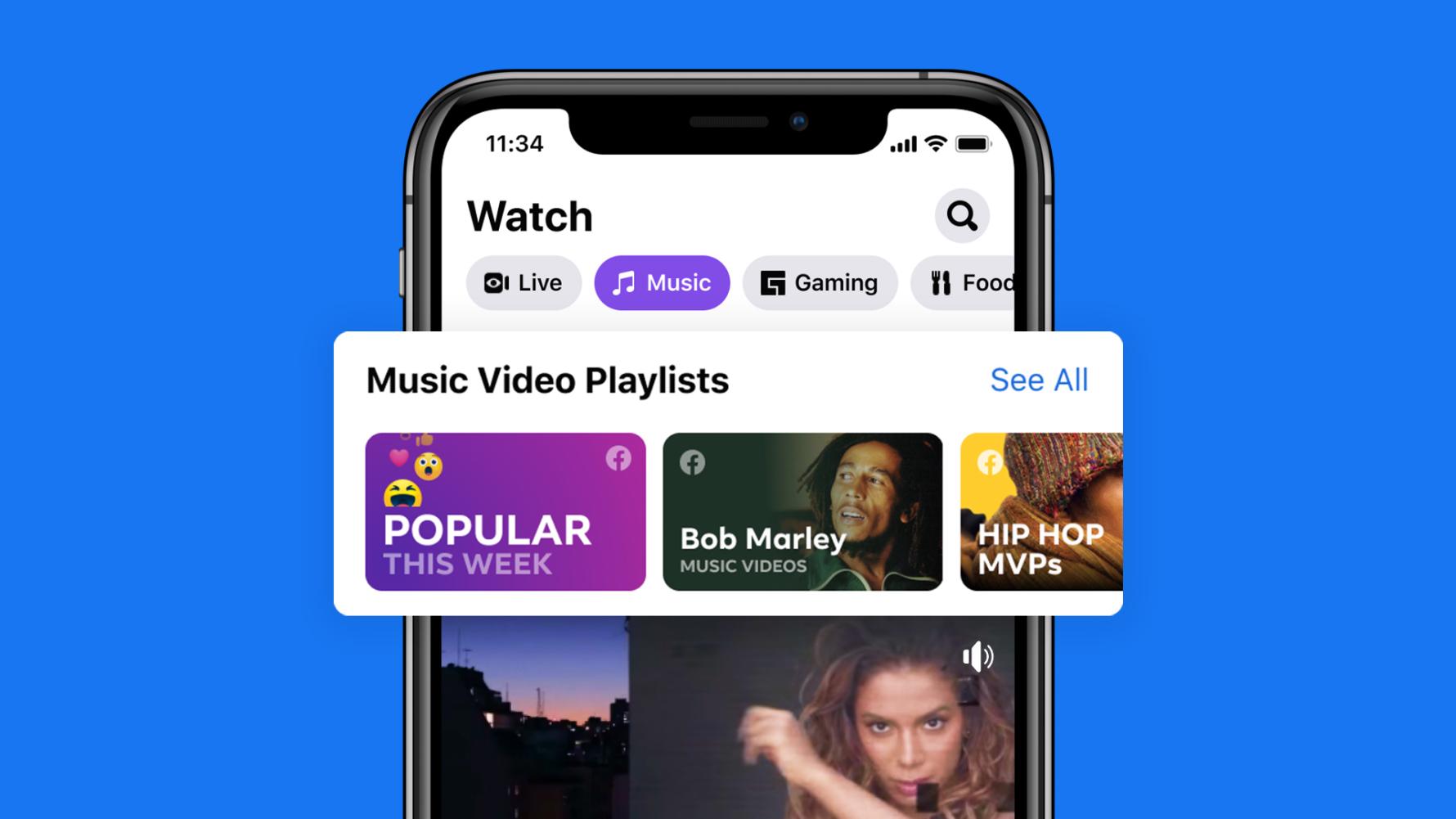 ARエフェクトなどの活用で双方向の交流!Facebook公式ミュージックビデオ機能が公開。