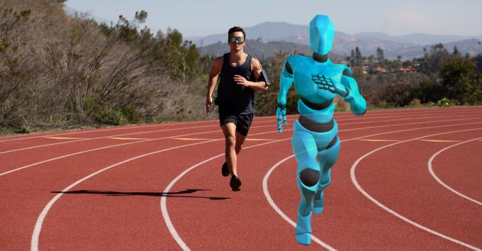 世界初のランナー用ARグラス「Ghost Pacer(ゴーストペイサー)」が登場!ARランナーとリアルタイムで並走できる