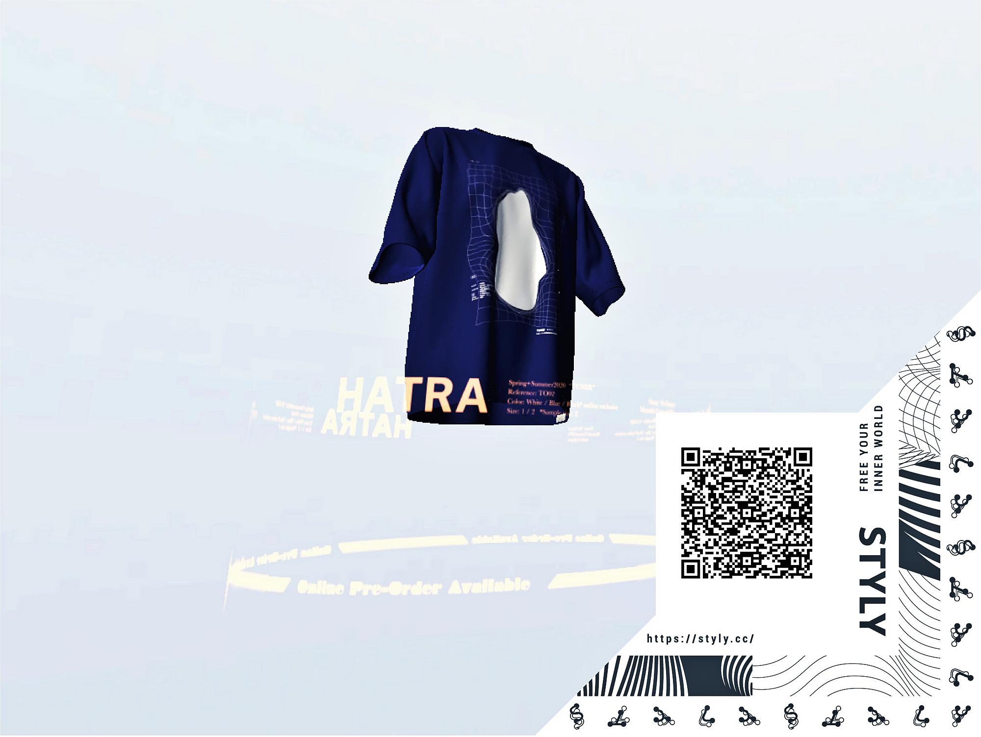 ARアプリ「STYLY」×ファッションブランドの「HATRA」がコラボ、新作アイテムのルックを3Dで閲覧できる