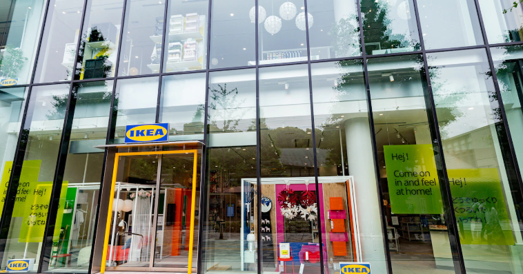 AR技術で家具のバリエーションの確認ができる!IKEA原宿が6月8日にオープン