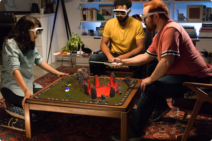 AR技術搭載のボードゲーム「Tilt Five(ティルト・ファイブ)」ではRPGやシューティングゲームなどが楽しめる!