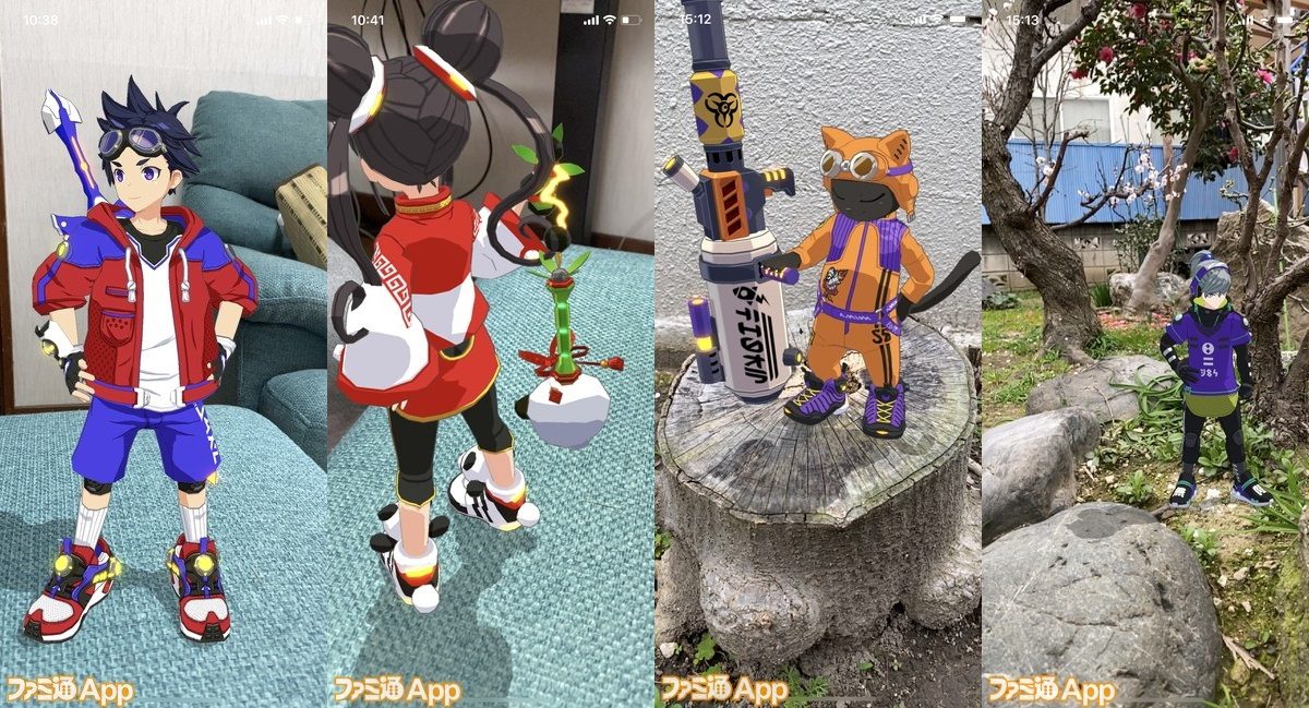 AR機能でバトル再現。キャラクターたちとの写真撮影も!スマホゲーム「キックフライト」