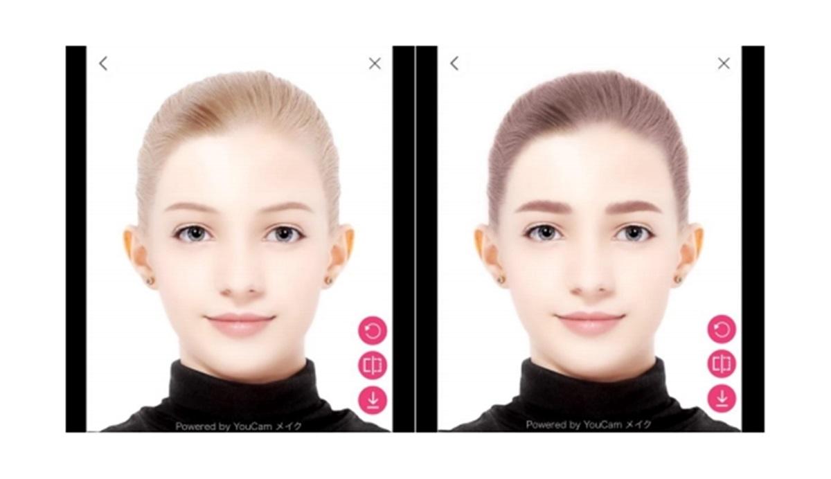 ARで眉と髪のカラーをシュミレーション!コーセー ミルボンの「インプレア」がバーチャルメイクのWEBアプリケーションを導入