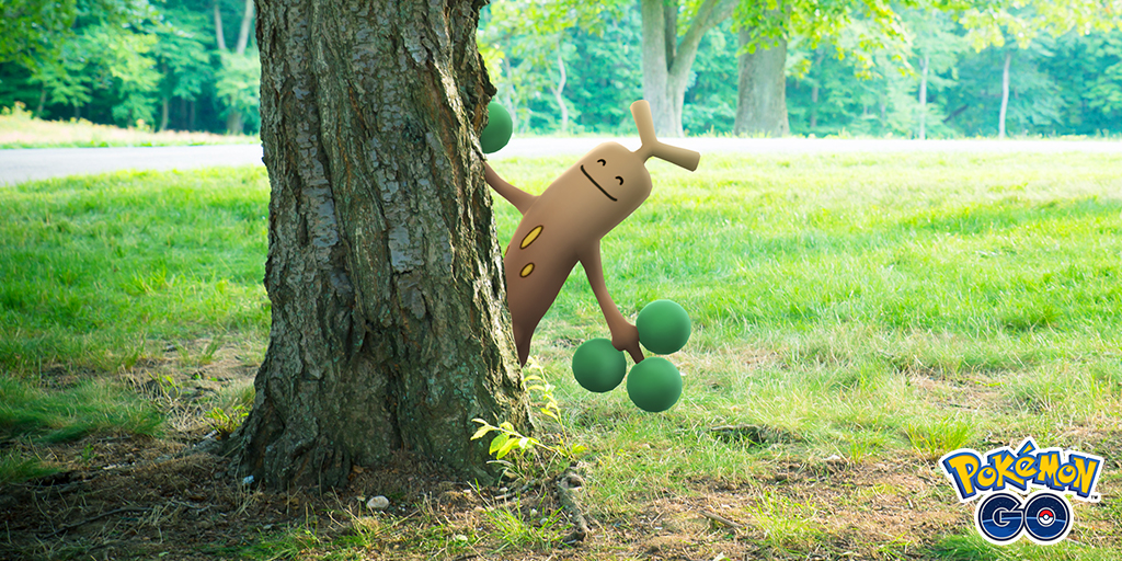 「ARブレンディング」機能でポケモンが木や物の後ろに隠れて見える!ポケモンGO(Pokémon GO)の「GOスナップショット」に実装