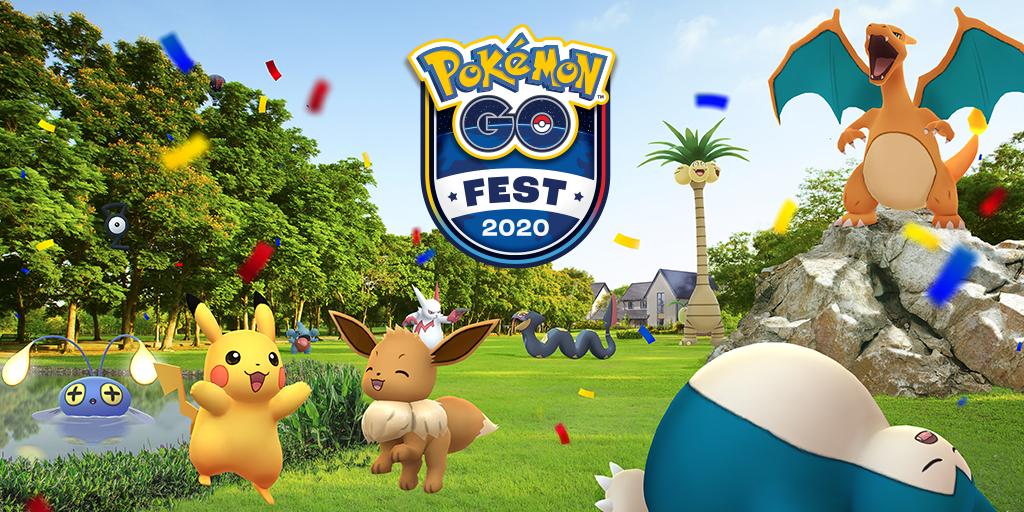 AR位置情報ゲーム「ポケモンGO(Pokémon GO)」夏のオンラインフェスティバル開催!