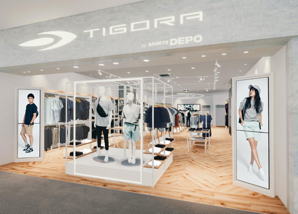 AR/VRを活用したバーチャル店舗がオープン 「TIGORA by SPORTS DEPO 」で新しい買い物体験を