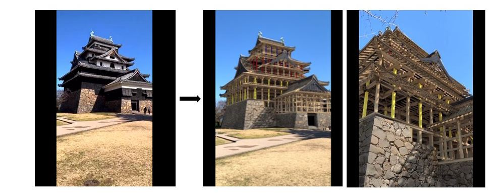 凸版印刷株式会社、AR・VR技術を活用し江戸時代の「国宝松江城」と「水都 松江」を再現