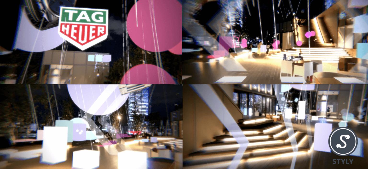 XRでイベントの世界観を楽しめる!SIRUPの「MAIGO」のXRミュージックアートコンテンツが渋谷PARCOで展示