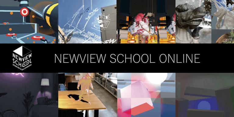AR・VRをオンラインで学べる!「NEWVIEW SCHOOL ONLINE」の提供開始