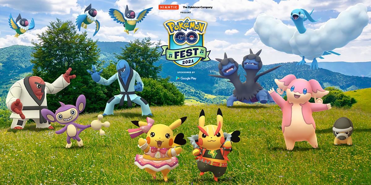 ARを使う人気ゲーム「ポケモンGO」が5周年記念イベント「Pokémon GO Fest」を開催!
