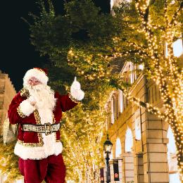ARサンタと触れ合えるイベントが大丸神戸店にて開催!コロナ禍でのクリスマスイベント