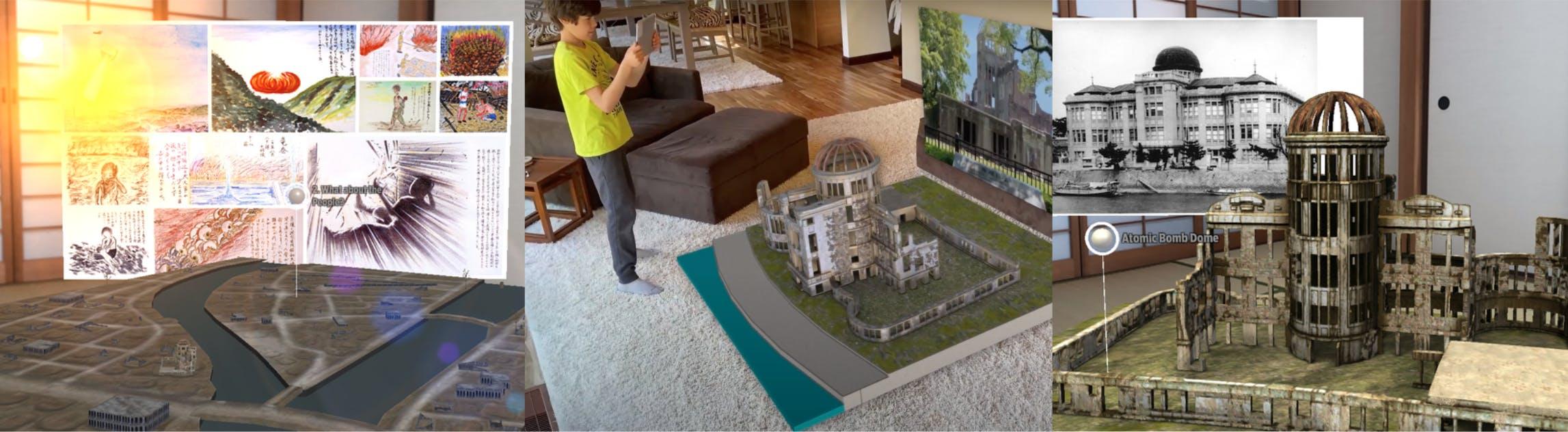 ARで広島平和記念公園を巡るアプリ!「XPLORE HIROSHIMA」リリース