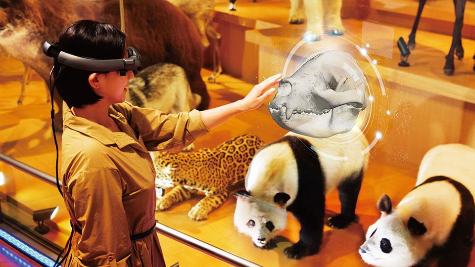 AR・VRなどXR技術で新しい博物館体験!「ドコモ×国立科学博物館 XRで楽しむ未来の展示」実施