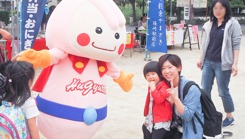 江戸川区の子育ての祭典『ハギュット・フェス』に、娘と一緒に行ってきた