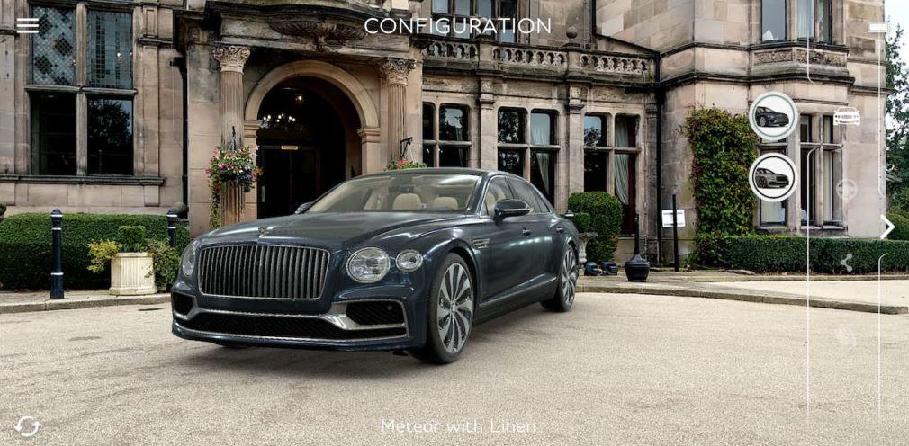 ARで新型スポーツセダンを堪能できる!ARアプリ「Bentley AR Visualiser」がリリース