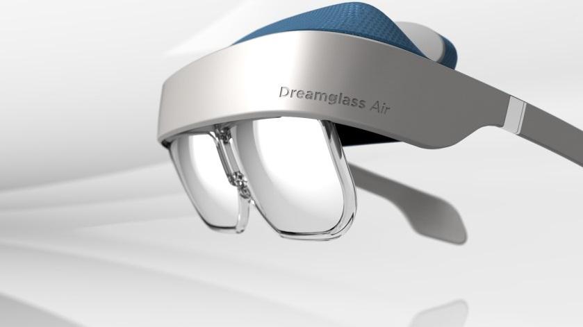 大画面ディスプレイを備えたARヘッドセット「DreamGlass Air」の予約が開始