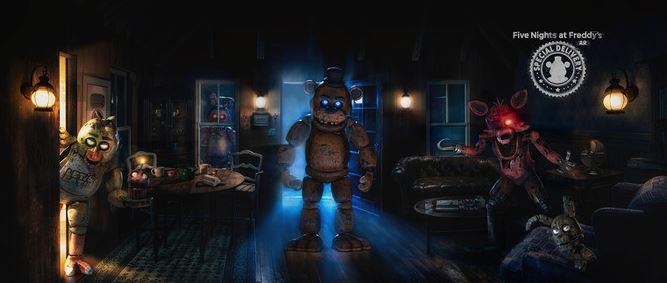 人気ホラーゲーム「Five Nights at Freddy's」のAR版が正式リリース、ARで家が恐怖空間に