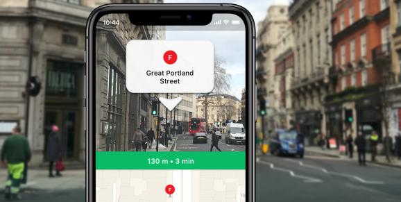バスや駅の乗り換えにもう迷わない!海外に人気の交通アプリ「Moovit」がARを活用した新機能を実装