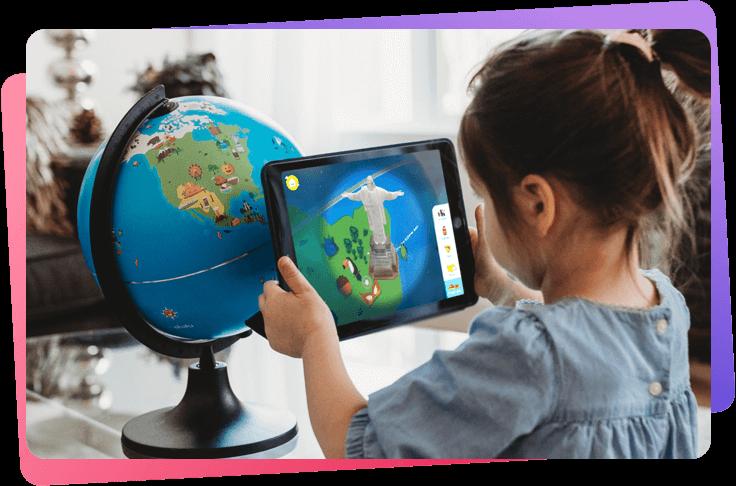 なんと6万語以上の英語を収録! 新感覚の知育玩具「AR地球儀」で子どもの語学力と好奇心をアップ