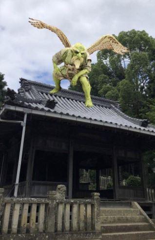 兵庫県福崎町がスマホ撮影で妖怪が現れるARアプリを配信中