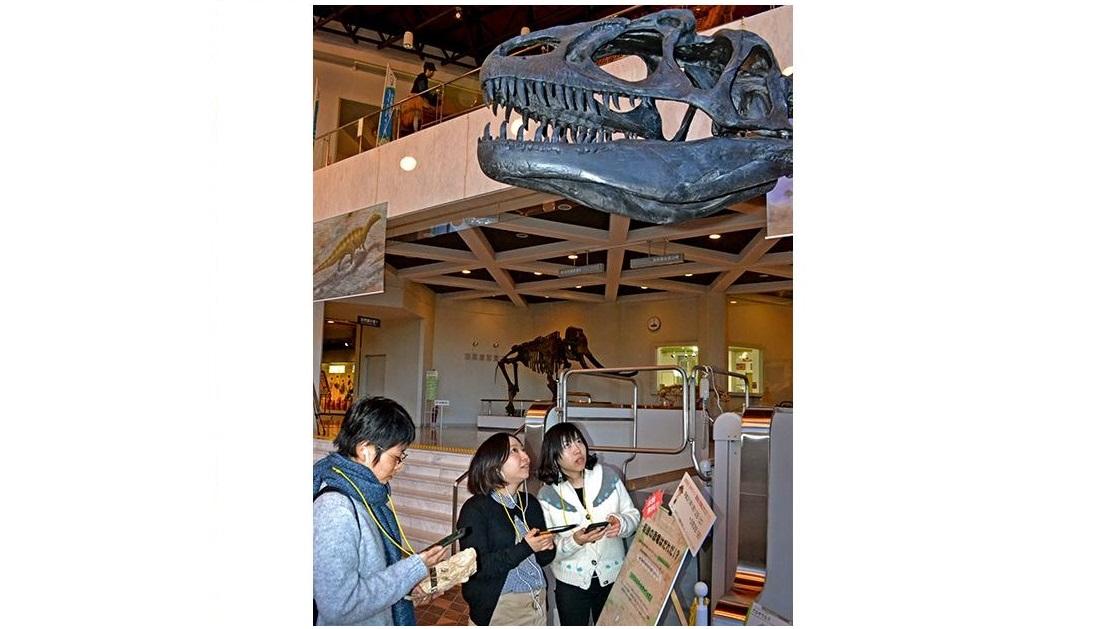 岐阜県博物館が恐竜展示に音声ARを実施。次世代の音声ガイドを体験できる