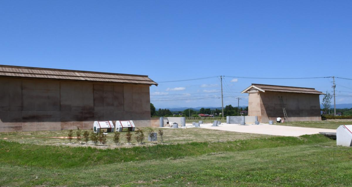 ARで平安時代の塀や道路が復活!胆沢城跡歴史公園がついにオープン