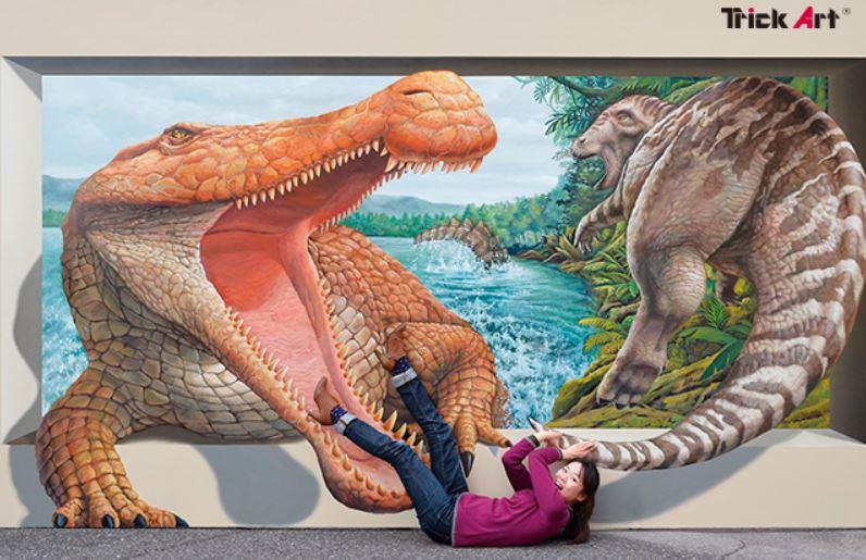ARトリックアートが楽しめる!石川県金沢市のめいてつ・エムザにて「新・大トリックアート展」が開幕