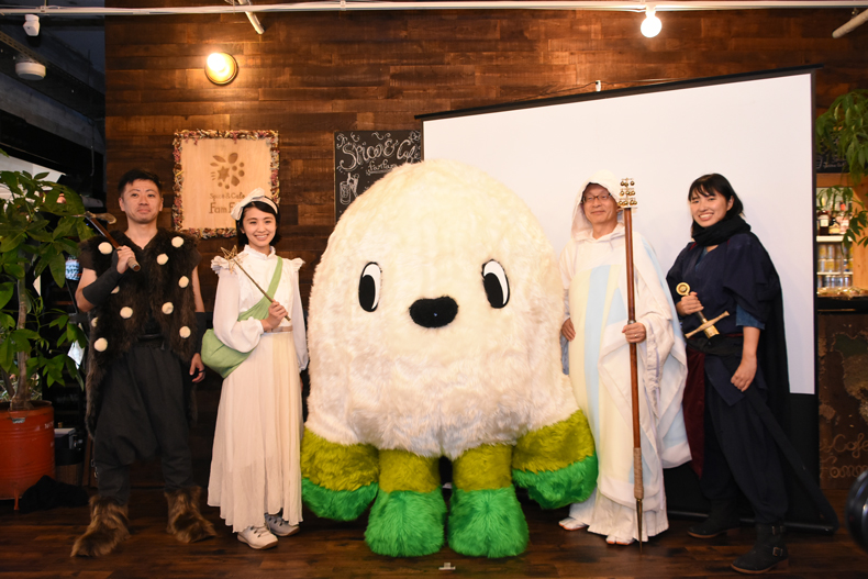 静岡県森町が体験型ARスタンプタリーを開催!なぞきゃら「コモコモ」と友達になろう