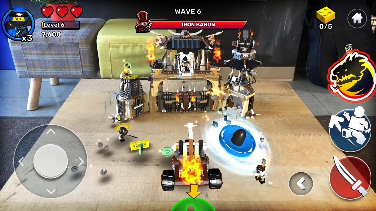組み立てたレゴブロックを使ってバトル開始!LEGOがARアプリをリリース