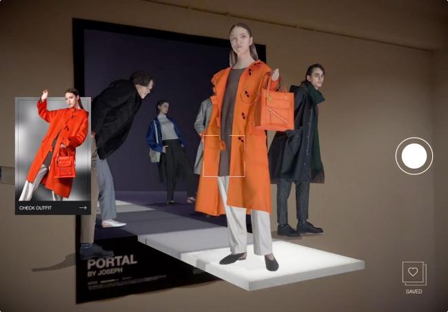 日本初のARファッションショー!株式会社MESON開発のPORTALで店舗でランウェイが見れる