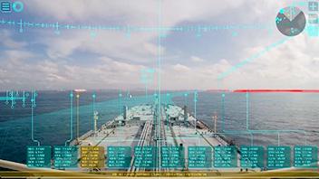 ARを利用した船舶システムが運用開始!他船や浅瀬などの情報を瞬時に把握