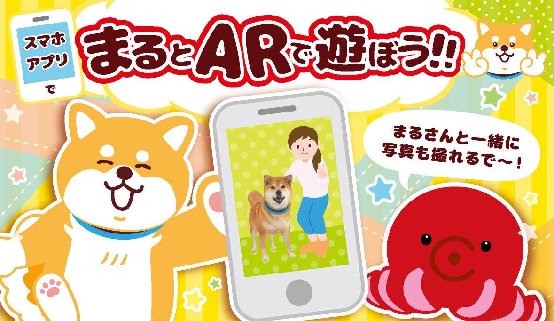 世界一有名なアイドル犬・柴犬まるがAR化!柴犬まる12th生誕祭キャンペーン