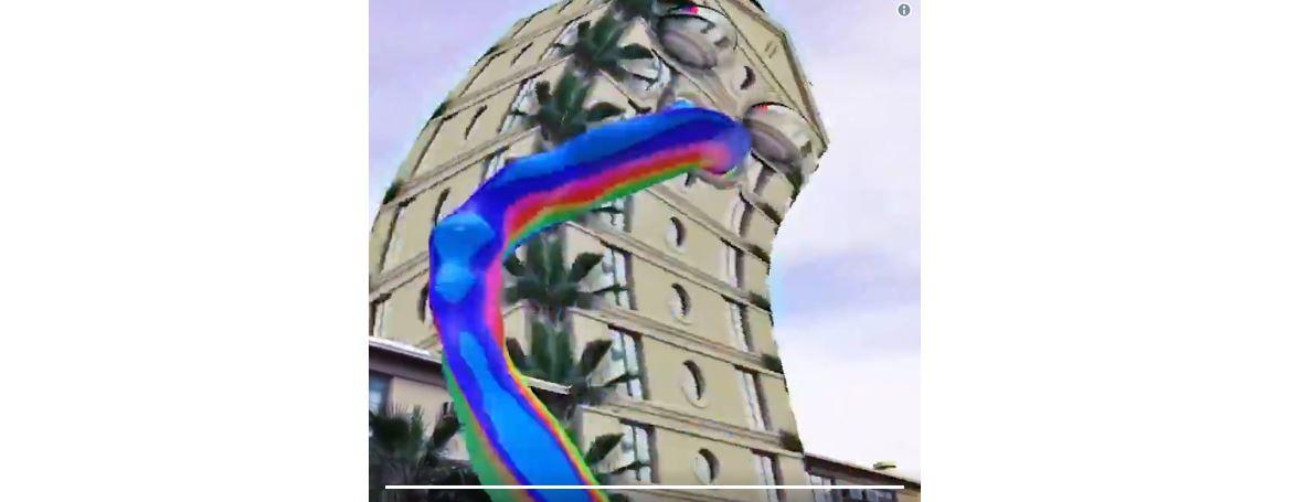 世界の観光名所から虹が噴き出る!?スナップチャットに新AR機能が続々追加